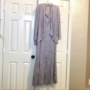 Lavender David's Bridal Dress